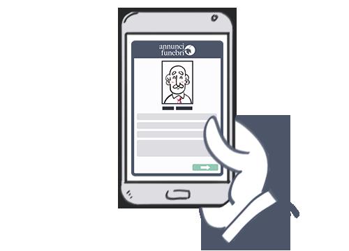 AnnunciFunebri.it - consulta gli annunci da smartphone